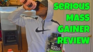 Optimum Nutrition Serious Mass Gainer Review - CARBS FOR GAINS!
