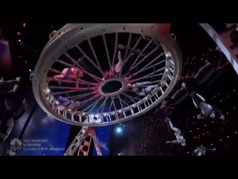 Diavolo: A Live Stage SPECTACLE With Architecture & Human Bodies! America's Got Talent 2017