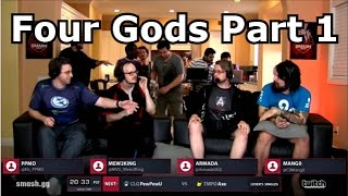 Smash Summit Four Gods Commentary Highlights