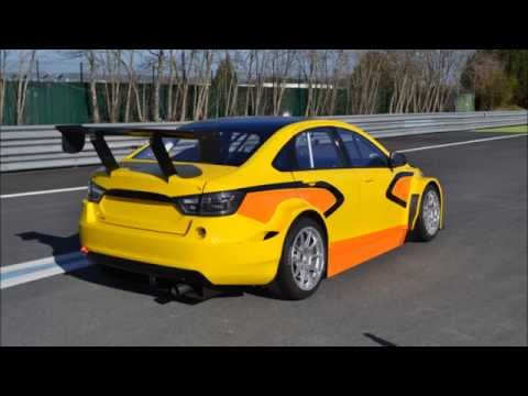 First video of LADA Vesta TC1 tests