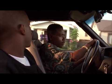 """Menace II Society (1993) """"Caine & Sharif Get Beat Up By The Cops"""""""