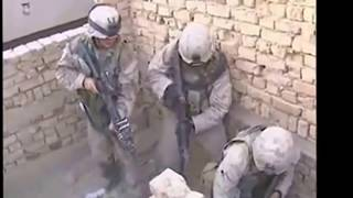 Some crazy firefight scenes filmed in Iraq and Afghanistan.
