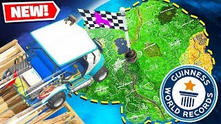 Video *WORLD RECORD* WE BUILT A RACE TRACK AROUND THE ENTIRE MAP! - Fortnite Battle Royale MP3, 3GP, MP4, WEBM, AVI, FLV September 2018