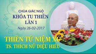 Thiền Tứ Niệm Xứ - TS. Thích Nữ Diệu Hiếu