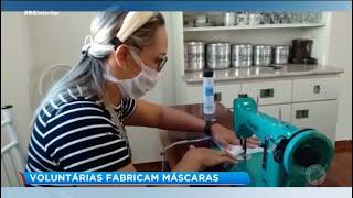 Paraguaçu Paulista: voluntárias fabricam máscaras para doação