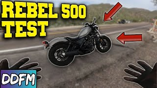 5. Can A Honda Rebel 500 Make It Up A Mountain? Honda Rebel 500 Riding Test