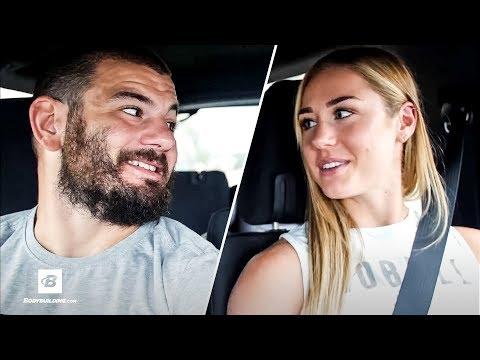 Mat Fraser & Brooke Wells Drop In Unsuspecting CrossFit Gym