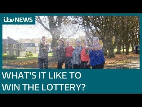 Lottery winners reveal how their lives have changed since becoming millionaires | ITV News
