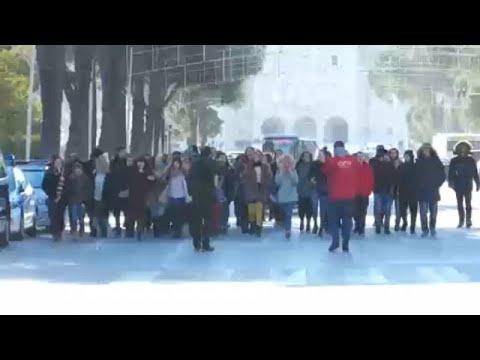 Αλβανία: Συνεχίζονται οι φοιτητικές διαδηλώσεις