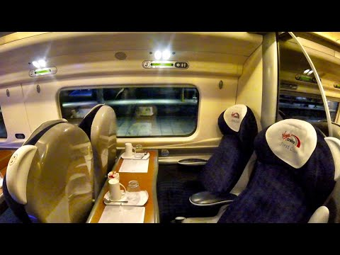 Manchester to Milton Keynes Central with VIRGIN TRAINS, First Class