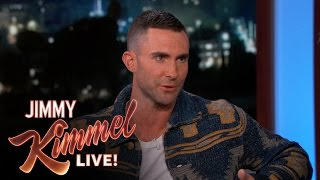 Adam talks about his wife and how hard it is to pronounce the country she's from. SUBSCRIBE to get the latest #KIMMEL:...