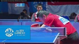 Video Table Tennis Men's Team Semi-Finals Singapore vs Indonesia Match 1   28th SEA Games Singapore 2015 MP3, 3GP, MP4, WEBM, AVI, FLV Desember 2018