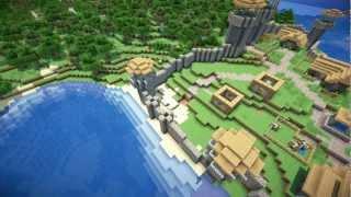 Minecraft: Small Kingdom Timelapse (WORLD DOWNLOAD IS DESC)