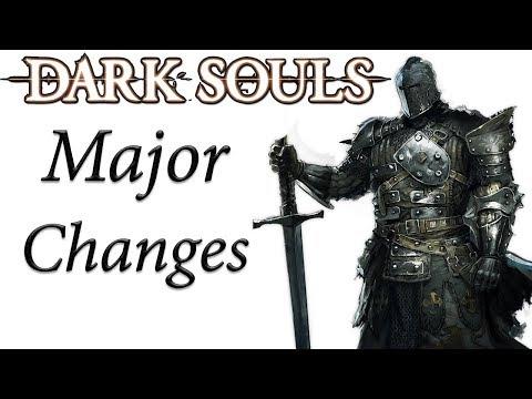 Dark Souls REMASTERED MAJOR Changes