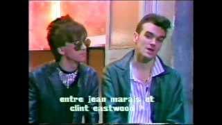 Morrissey & Marr Interview (Enfants du Rock) (1984)