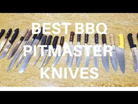 Best BBQ Pitmaster Knives Knife by Barbecue Champion Harry Soo How-to Barbeque