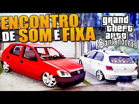 Som Automotivo e Carros Baixos - GTA San Andreas видео