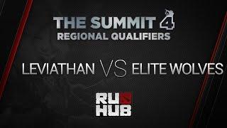 Elite Wolves vs Leviathan, game 2