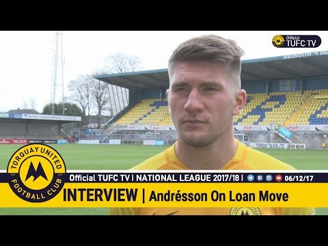 Official TUFC TV | Axel Andrésson Signs On Loan 06/12/17