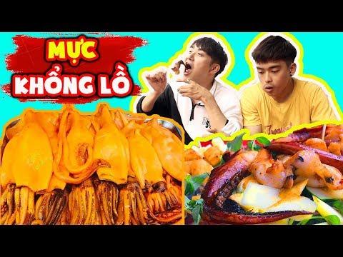 Phản ứng người Hàn lần đầu ăn Mực Khổng Lồ ngon bá cháy ??? - Thời lượng: 10 phút.