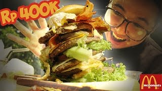 Video Burger McD TERMAHAL !? Wkwkwkwk MP3, 3GP, MP4, WEBM, AVI, FLV Juli 2018