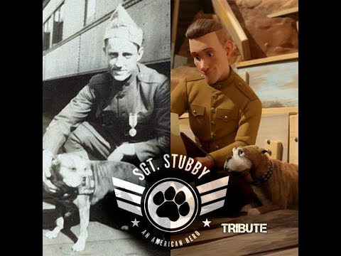 SGT Stubby Tribute -Trailer Videos- A TRUE STORY