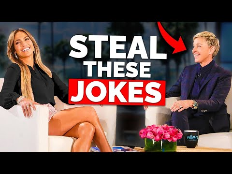 Three Types Of Jokes Ellen DeGeneres Uses To Make People Instantly Like Her