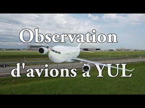 Observation d'avions à Montréal (YUL)