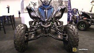 9. 2017 Yamaha Raptor 700R SE Sport ATV - Walkaround - 2017 Montreal Motorcycle Show