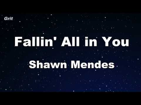 Fallin' All In You - Shawn Mendes Karaoke 【No Guide Melody】 Instrumental