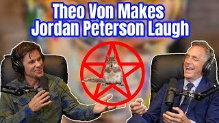 Theo Von Makes Dr. Jordan Peterson Laugh