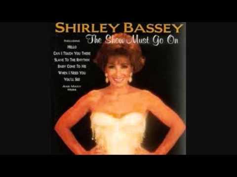 Tekst piosenki Shirley Bassey - Baby Come To Me po polsku