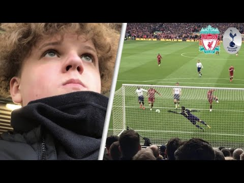 Liverpool 2-1 Tottenham! Away Premier League Match Day Vlog! Top 4 Dreams Crushed?