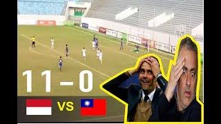 Video Highlights: Indonesia U16 11 vs 0 ChinaTaipei U16 | Tiền Phong Nhựa Cup 2017 | 18.6.2017 MP3, 3GP, MP4, WEBM, AVI, FLV Februari 2018