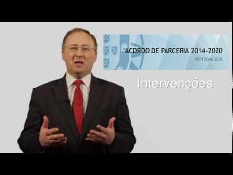 """Minuto Europeu nº 5 - """"Acordo de Parceria - Portugal 2020"""""""