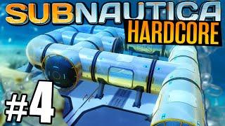 Subnautica - Part 4 - BASE BUILDING | Let's Play Subnautica Hardcore (Subnautica Gameplay)