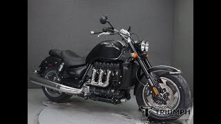 3. 2018  TRIUMPH  ROCKET III ROADSTER - National Powersports Distributors