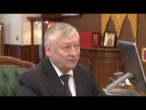 Marele maestru internațional rus de șah, Anatolii Karpov efectuează o vizită în Moldova la invitația Președintelui țării