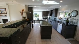 Modern Contemporary Kitchen Remodel in Laguna Beach Orange County by APlus Interior Design