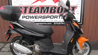 5. 2010 Aprilia Sport City 300 For Sale at Steamboat Powersports UC0035 (970)879-5138