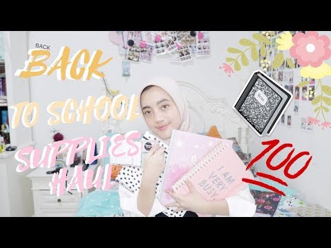 BACK TO SCHOOL SUPPLIES HAUL 2018 | INDONESIA