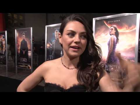 Jupiter Ascending: Mila Kunis Exclusive Premiere Interview