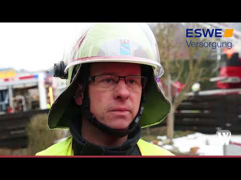 Bad Schwalbach: Brand in Hettenhain - Munition expl ...