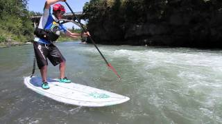 Eddy Turns-Whitewater SUP