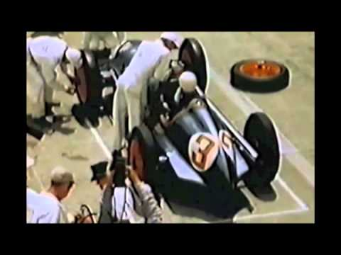 Evolution of Formula One pit stops since 1950
