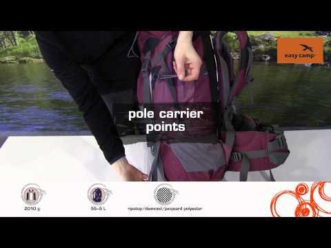 Відеоогляд рюкзака Easy Camp Matric 55+5