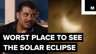 Some states in the US have historically terrible weather during the Summer. Neil deGrasse Tyson sat down with Meteorologist Joe Rao to discuss more about the worst state to watch the Great American Eclipse.Listen to the full StarTalk podcast here: http://bit.ly/2v9D9pfStarTalk on Mashable is a video series, produced by Mashable and StarTalk Radio. StarTalk Radio is a podcast and radio program hosted by astrophysicist Neil deGrasse Tyson.StarTalk Radio on Twitter: https://twitter.com/StarTalkRadioStarTalk Radio on YouTube: https://www.youtube.com/user/startalkradio