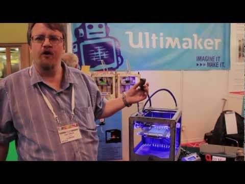 Personal 3D Printers at TCT Live 2012 – The 3D Printer Spy is back!