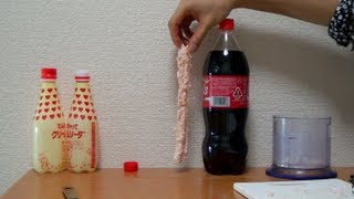 Coca Cola + Mentos to the next level