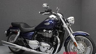 7. 2010  TRIUMPH  THUNDERBIRD  - National Powersports Distributors